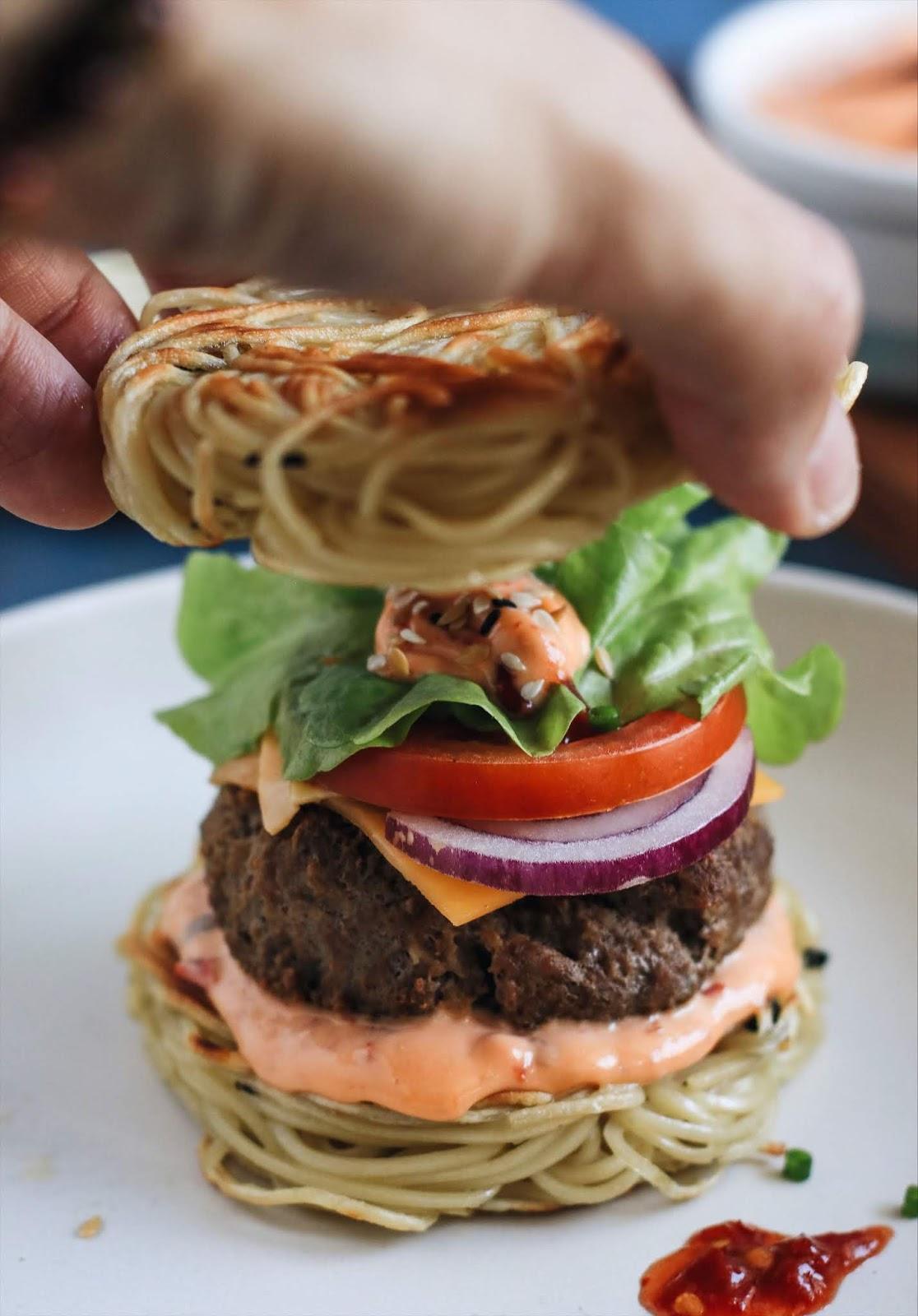 Jak zrobic ramen burger przepis