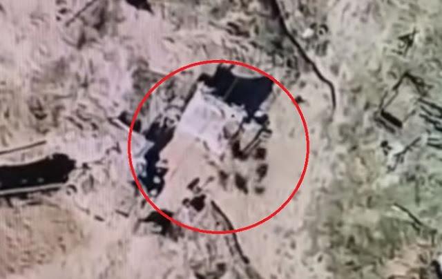 Український дрон скинув фугас на позиції окупантів