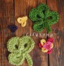 http://www.craftsy.com/pattern/crocheting/accessory/free-clover-crochet-embellishments/7892