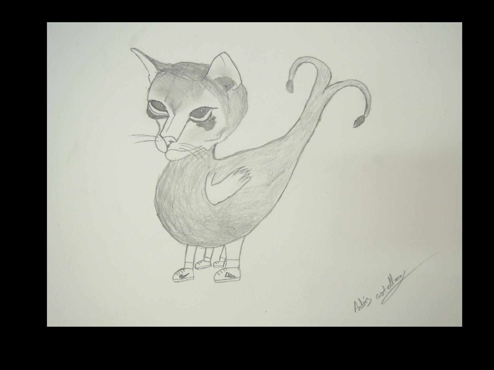 Mesa Y Lapiz Animales Fantasticos En Dibujo Artistico I