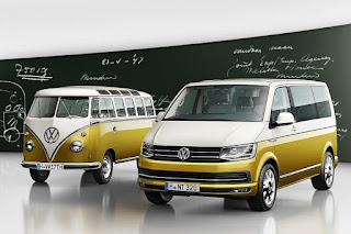 Volkswagen Transporter Multivan '70 Years of the Bulli' (2017) Front Side