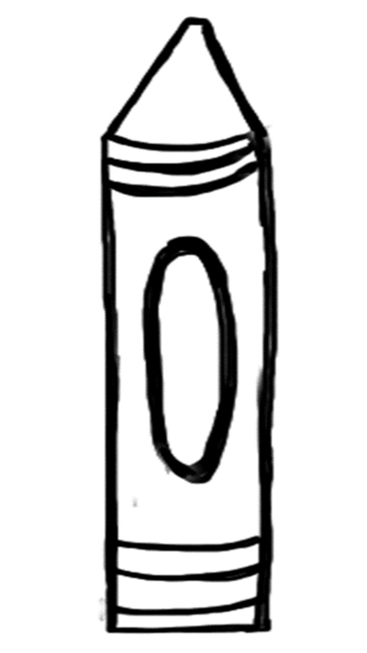 crayon labels template - beyond the garden gate september 2014