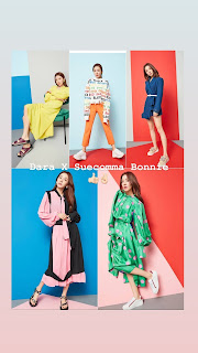 Sandara Park x YOOX Collaborations | SUECOMMABONNIE X YOOX Designed by Sandara Park