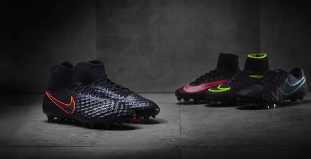 new styles ad694 fd4da Following up on the reveal of the Hypervenom, Mercurial and Tiempo Pitch  Dark cleats in early July, Nike yesterday officially launched the new  Magista boot ...