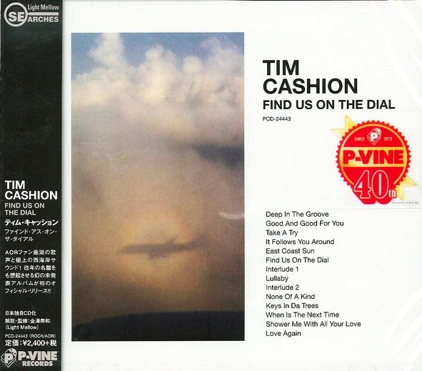 TIM CASHION - Find Us On The Dial [Japan only] full