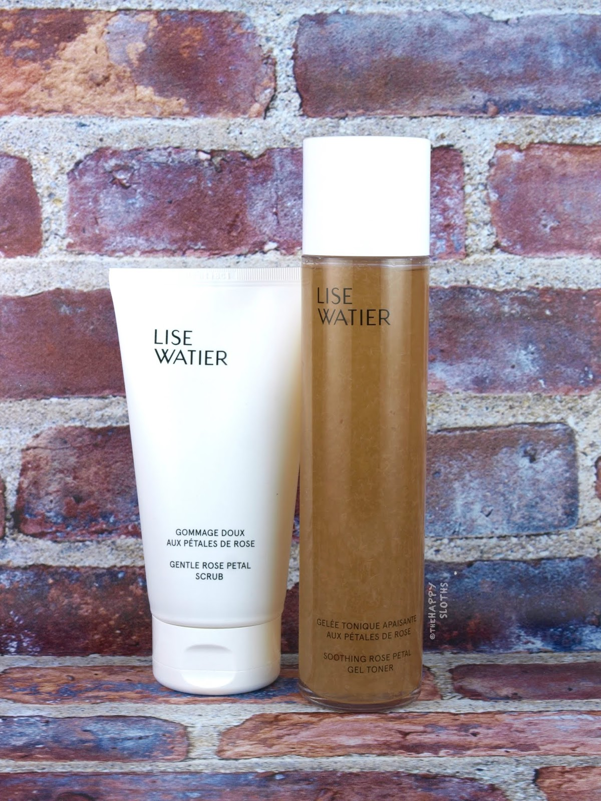 Lise Watier | Gentle Rose Petal Scrub & Soothing Rose Petal Toner: Review