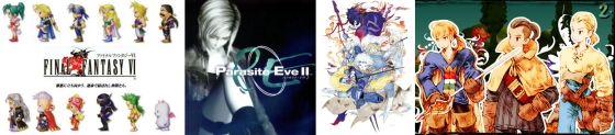 Final Fantasy VI et Parasite Eve 2 dispo sur le Playstation Network