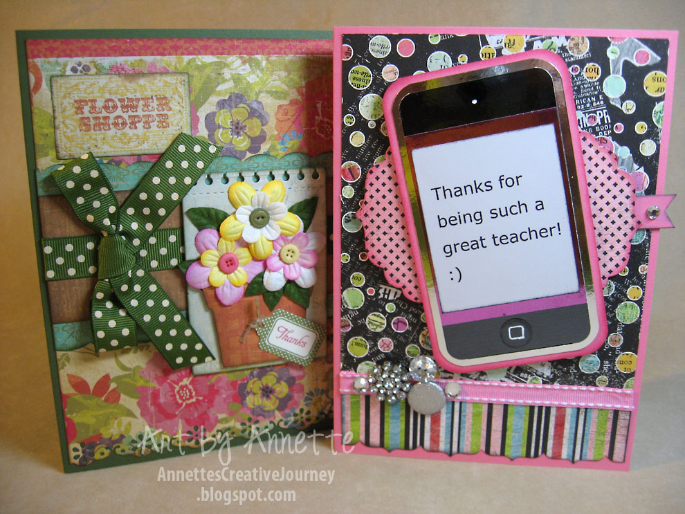 annette's creative journey teacher appreciation cards