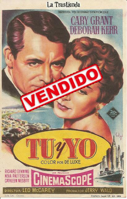 Programa de Cine - Tu y Yo (1957) - Cary Grant - Deborah Kerr