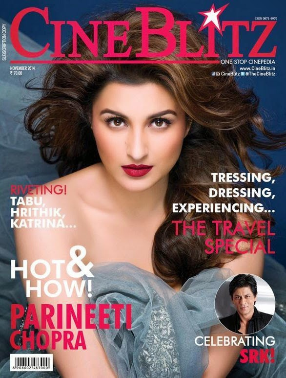 Parineeti Chopra, Bollywood Actresses on Indian Magazines November 2014 Covers
