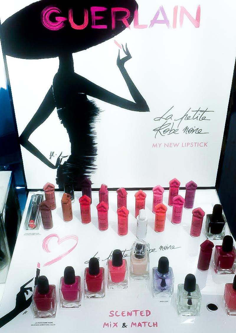 Guerlain La Petite Robe Noire Lipsticks - Swatches