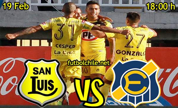 Ver stream hd youtube facebook movil android ios iphone table ipad windows mac linux resultado en vivo, online: San Luis vs Everton