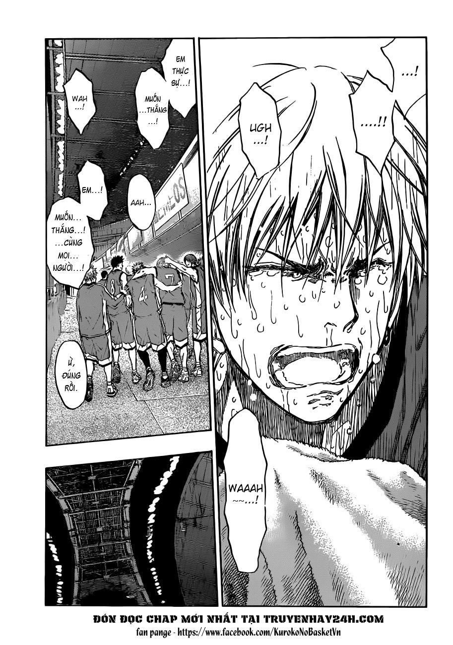 Kuroko No Basket chap 203 trang 10