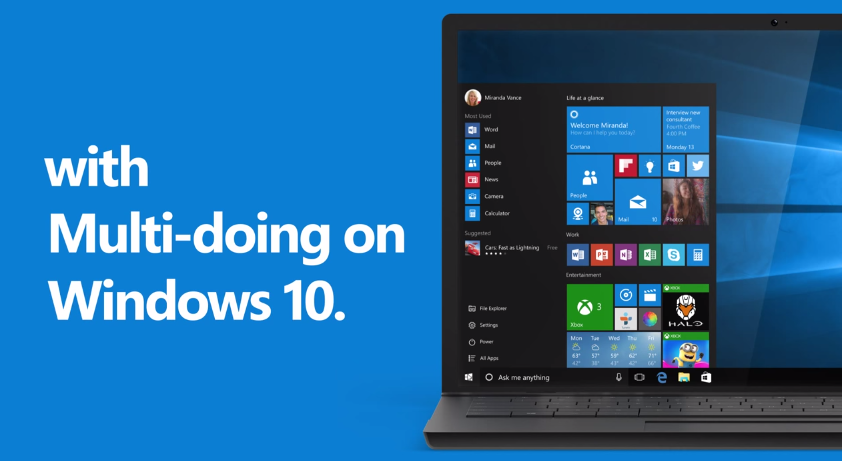 10 Reasons to Upgrade to Windows 10: MULTI-DOING Promo Ad