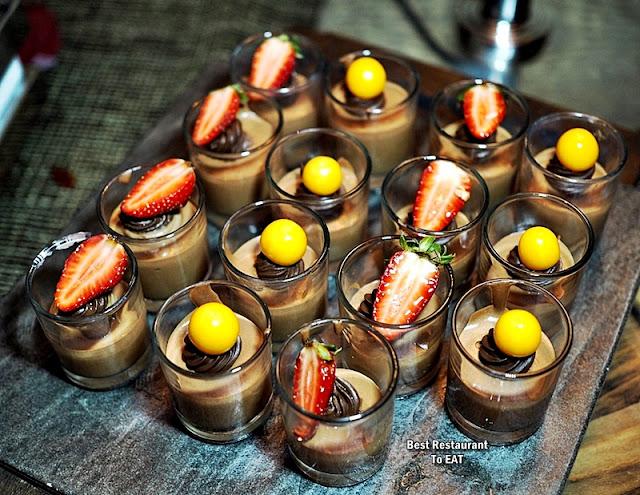 BBQ BUFFET Dessert Menu - Chocolate Mousse