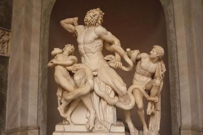 Grupo Laocoonte, Museus Vaticanos