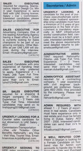 driver jobs in dubai khaleej times