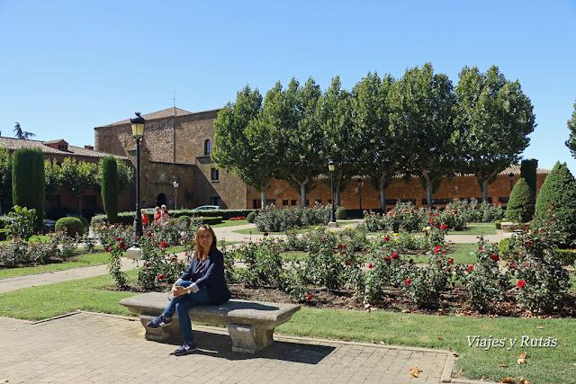 Jardines de la rosaleda, Benavente