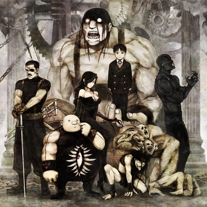 Fullmetal Alchemist Brotherhood Concept Art