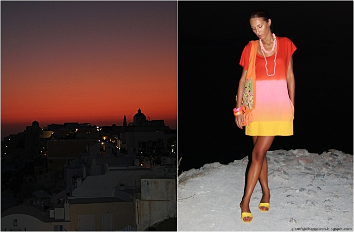 how to wear ombre dress for summer