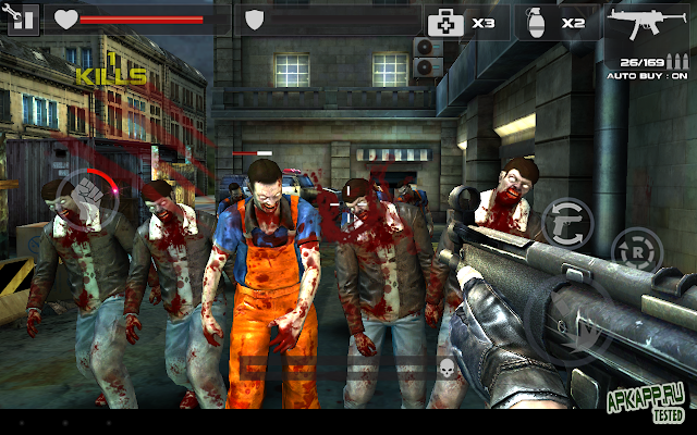 DEAD TARGET: Zombie v2.0.5 Apk Mod [Dinero]