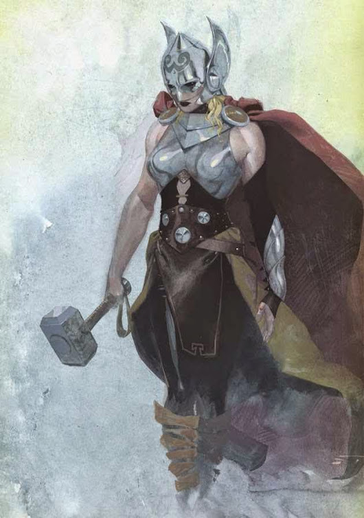 أول ظهور لشخصية THOR الانثى! | Kuwaitis On Road Blog