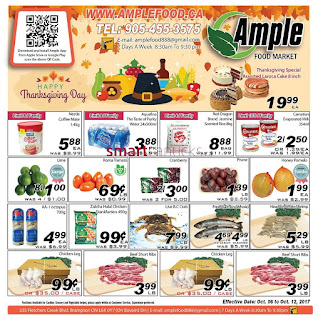 Ample weekly Flyer October 6 - 12, 2017