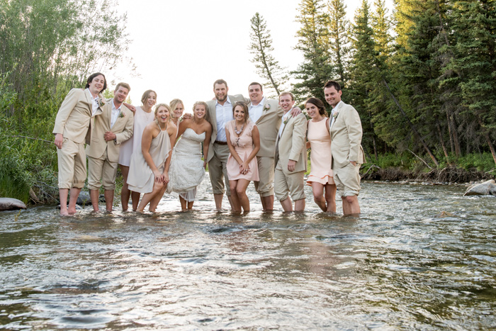 River / Wedding Party / Jessie Moore Photography