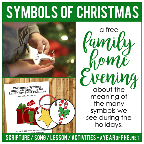A Year of FHE: Year 02/Lesson 51: Symbols of Christmas
