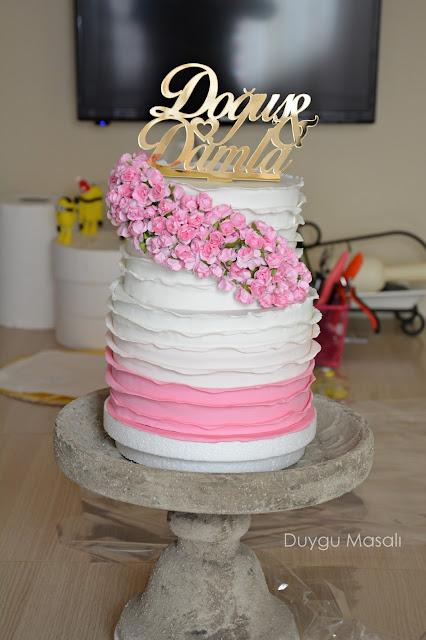 edirne çiçekli söz nişan butik pasta