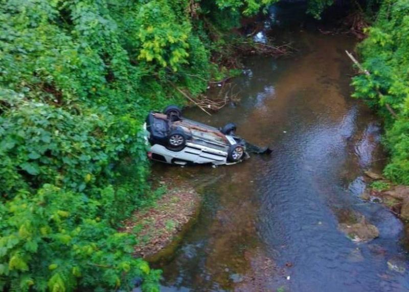 Varios heridos tras accidente en puente de Monte Plata