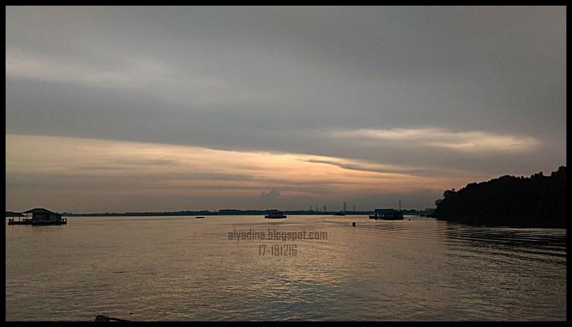 Matahari Terbenam Teluk Gong Klang