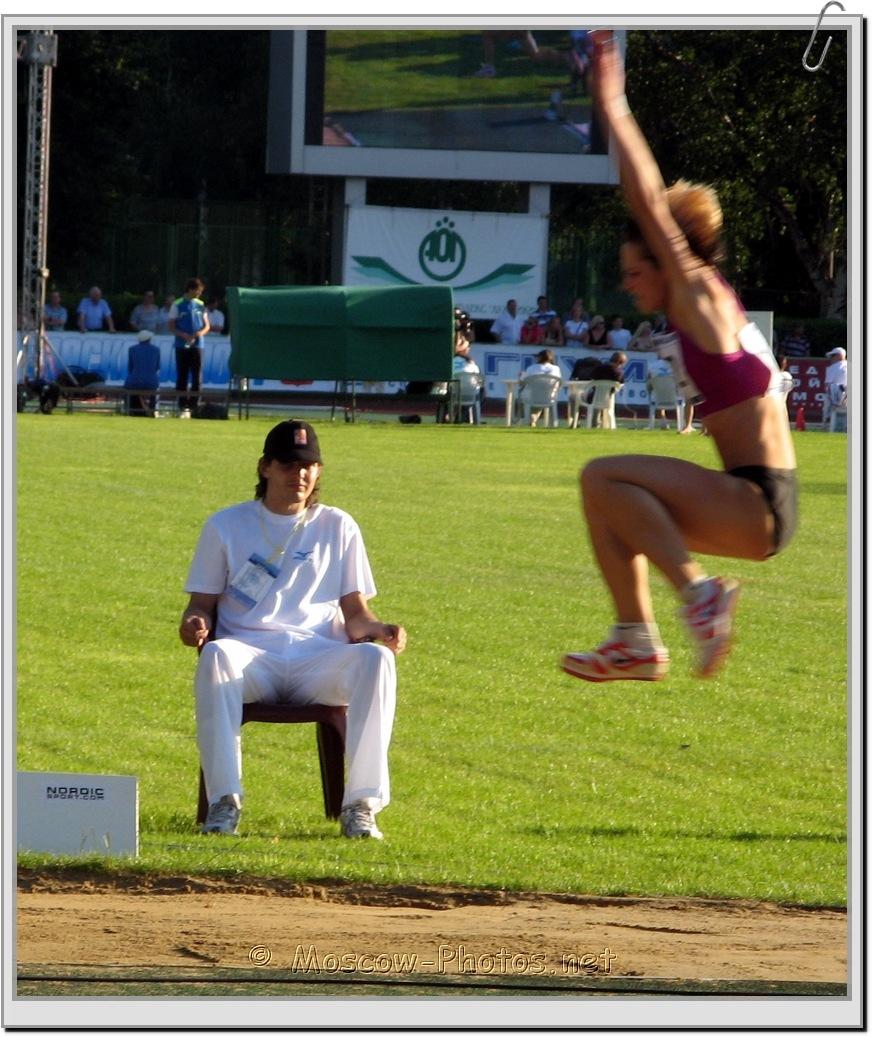 Girl's Long-Jump