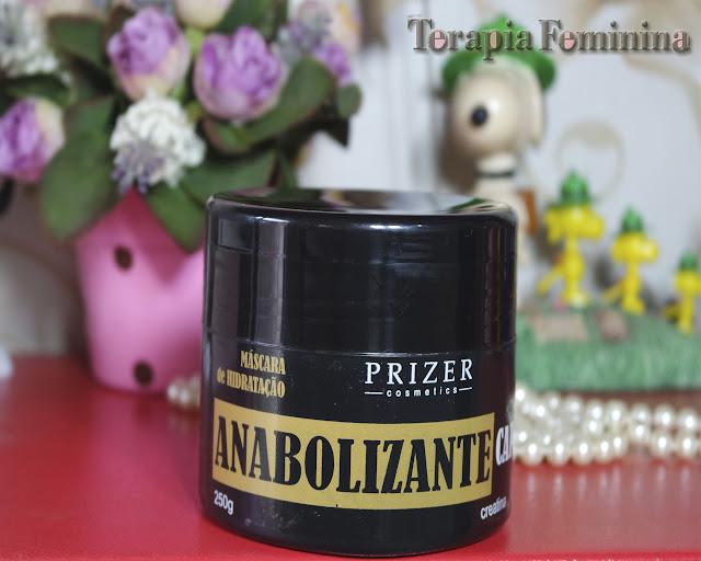 Máscara de Hidratação Anabolizante Capilar Prizer Cosmetics