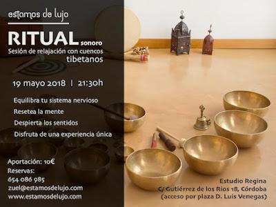 Sesión de cuencos tibetanos en Córdoba