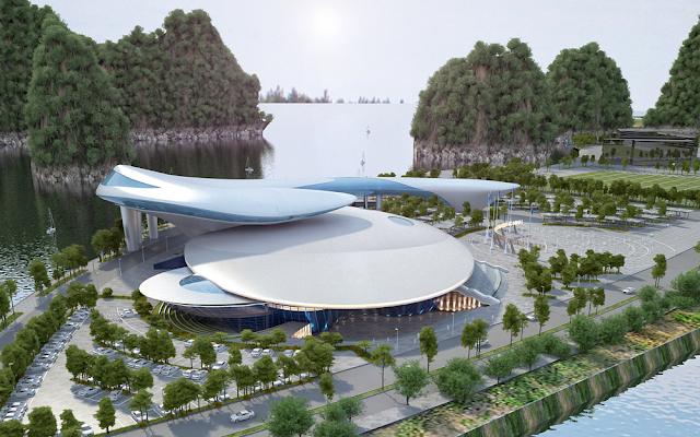Cung triển lãm Quảng Ninh