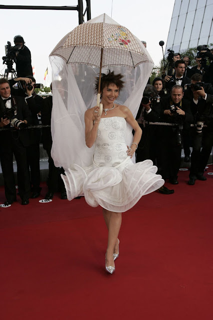 Victoria Abril en Cannes