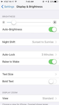 Kurangi Kecerahan Layar iPhone