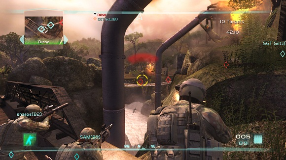 Tom Clancys Ghost Recon Advanced Warfighter 2 PC Full Version Screenshot 3