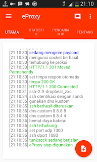 Catatan eproxy for android