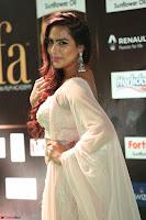 Prajna Actress in backless Cream Choli and transparent saree at IIFA Utsavam Awards 2017 0086.JPG