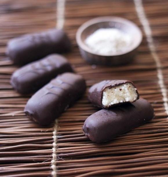 Barre Chocolatée À La Noix De Coco Façon Bounty Maison
