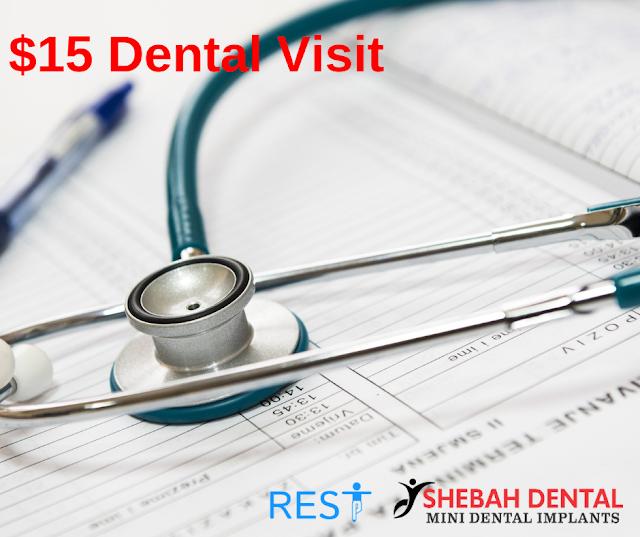 $15 Dental Visits in San Antonio