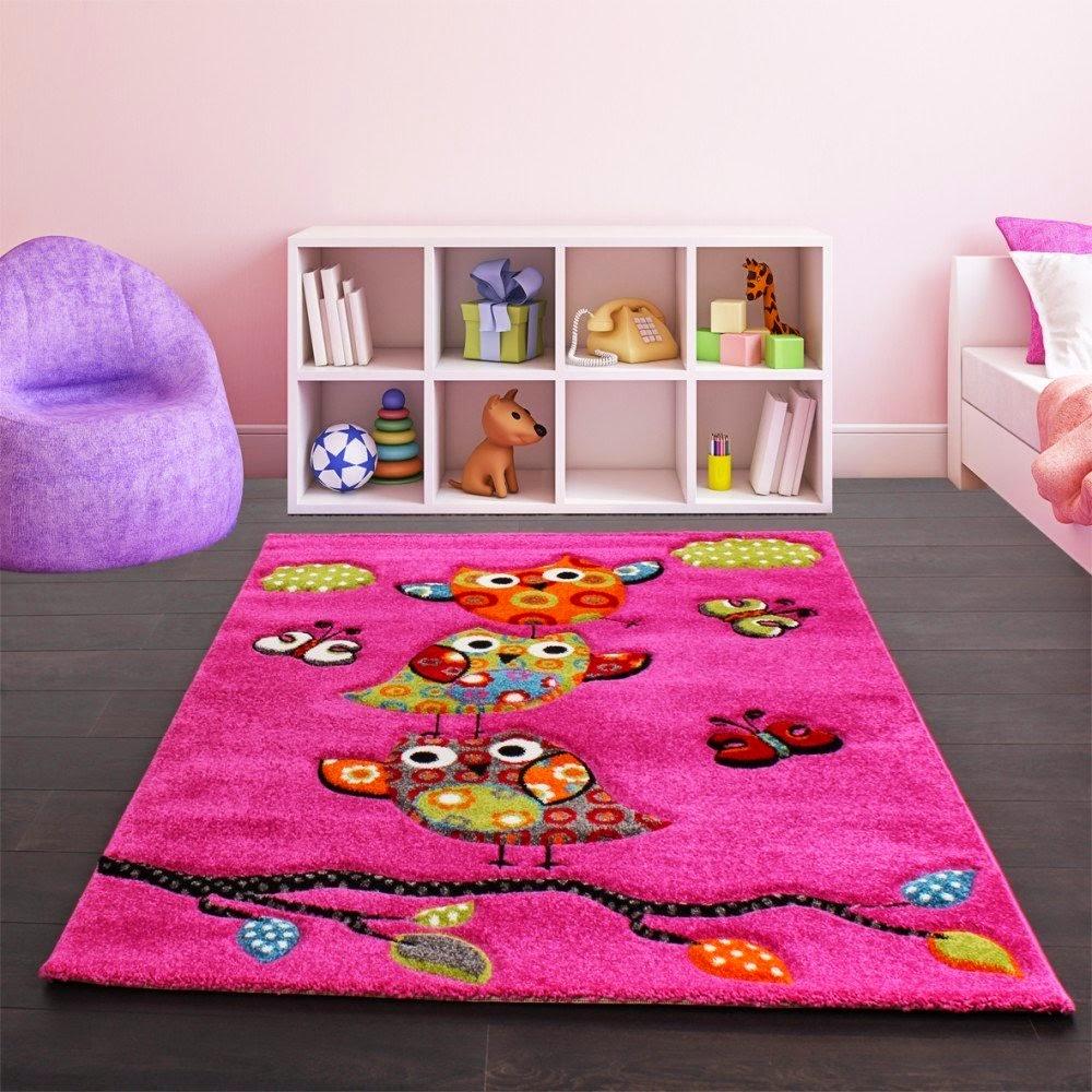 Tapis de sol pour chambre d 39 enfants tapis d co pas cher for Tapis chambre rose