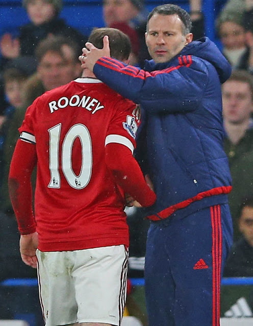 BACKING: United skipper Rooney is supporting team-mate Memphis