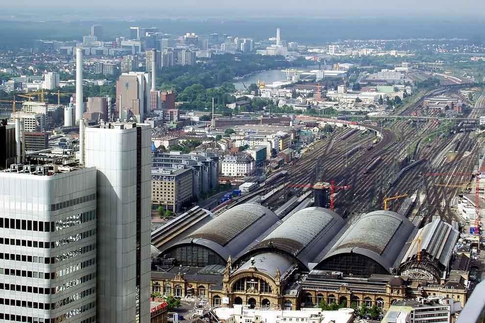 Frankfurt, Qendra financiare e Gjermanisë
