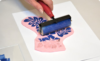Ink Stamp Printing
