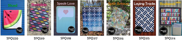 Quilt patterns by Slice of Pi Quilts