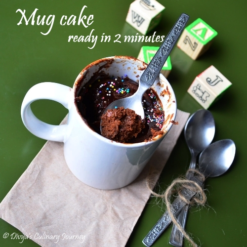 Mug Cake Without Eggs Or Milk