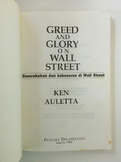 Greed And Glory On Wall Street